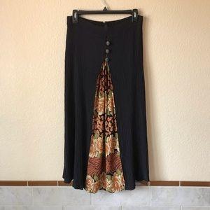 Womens Vintage Skirt Layered Look